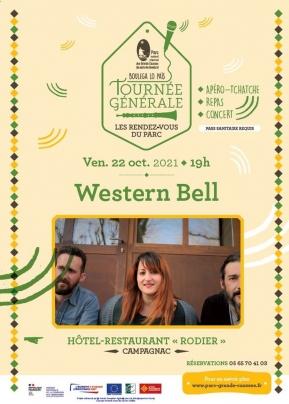 affiche Western bell