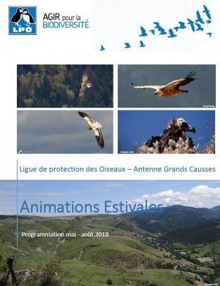 affiche animations estivales LPO