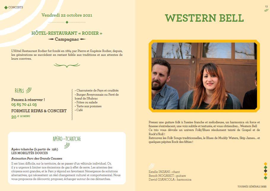 programme western bell