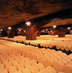 photo caves d'affinage Roquefort Société