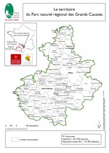 Carte du PNR GC