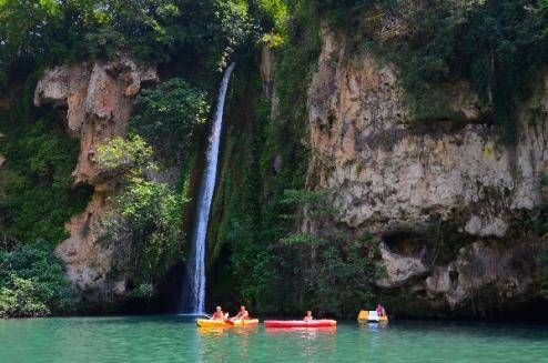 Camping-cascade-aveyron-cascade