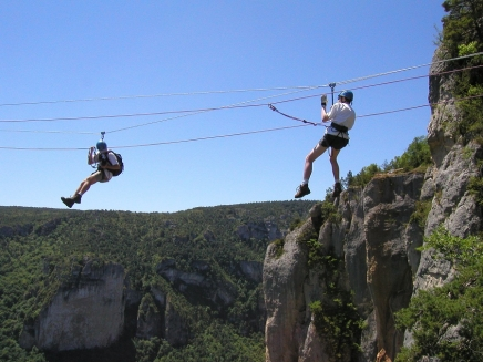 Antipodes via ferrata