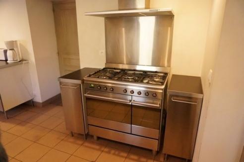 la cuisinière 5 feux