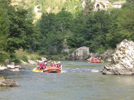 Aigue Vive rafting