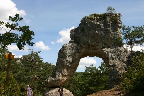 La Porte de Mycène, parc de loisirs de Montpellier-le-Vieux