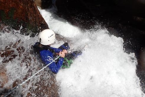 Canyon du Tapoul (avec niveau d'eau du printemps)