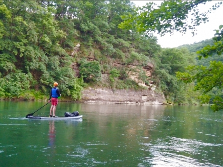 Canoescapade - stand up paddle géant