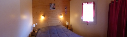 Chambre lit 140 (le Buis et le Houx)