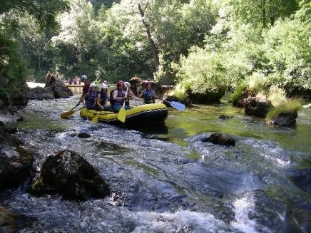 Roc et Canyon - rafting et hotdog