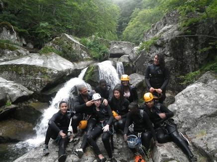 Acro-Bat. Millau - Canyon