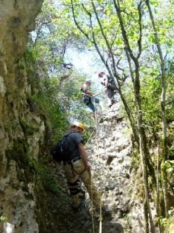 Horizon - Millau canyon vert