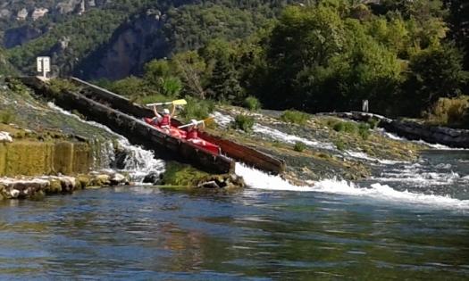 canoe en aveyron