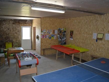 Jardin de chalets-salle de jeux