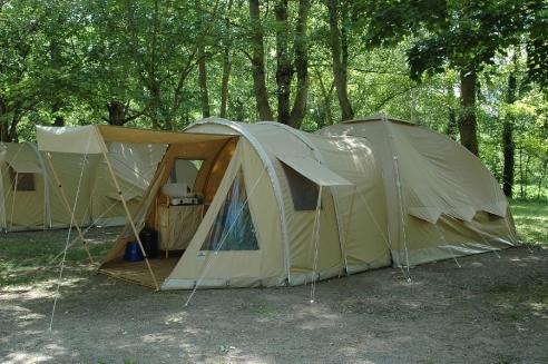 CAMPING SAINT LAMBERT, location de tente Karsten toute équipée