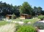 Jardin de chalets- Les 3 chalets et le jardin