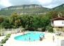 CAMPING LE SAINT LAMBERT, piscine et vue sur la Pouncho d'Agast