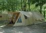 CAMPING LE SAINT LAMBERT, location de tente Karsten toute équipée