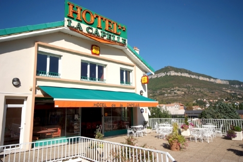 Hotel La Capelle Centre Ville Millau Aveyron
