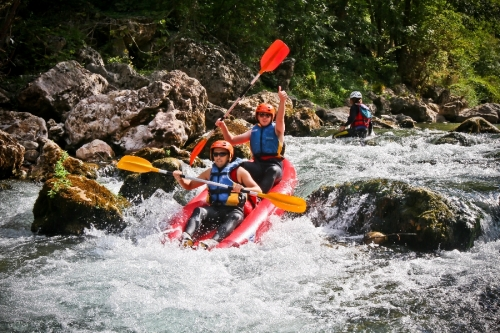 Roc et Canyon - Raft / Hotdog (mini-raft)
