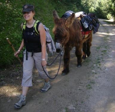 Maison des Accompagnateurs- Randonnée avec un âne bâté