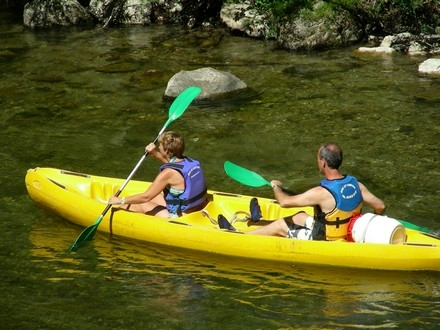 Roc et Canyon - canoë kayak