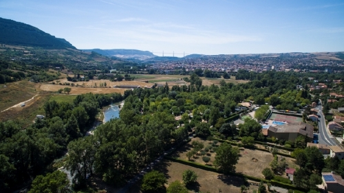 Camping les Rivages Millau Aveyron